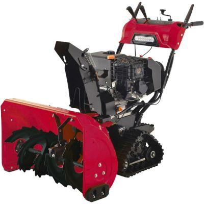 """Снегоуборщик DDE гусеничный ST1387L (двигатель Loncin """"SnowEngine"""" 13,0л.с., 6 вперёд/2 назад, 125 кг, треугольные гусеницы) ST1387L"""