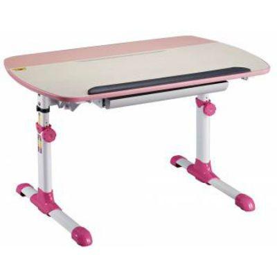 Стол Бюрократ Conductor-12/Milk&P (Молочный розовый)