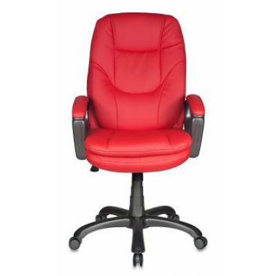 Офисное кресло Бюрократ руководителя CH-868AXSN/Red