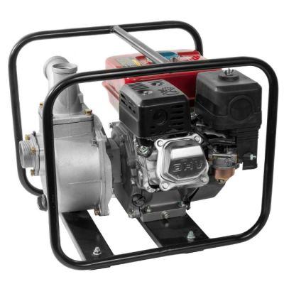 Мотопомпа DDE бензиновая PN50 (вых 50 мм 5,5 лc, 27 м куб/час, т. бак 3,6л, 27 кг)