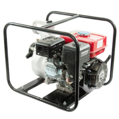 Мотопомпа DDE бензиновая PN80 (вых 80 мм, 6.5 лc, 26 м, 55 м куб/час, 3,6 л,30 кг)