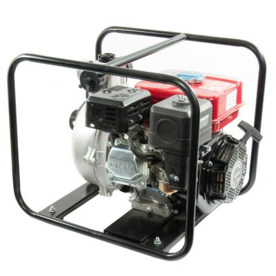 Мотопомпа DDE бензиновая высоконапорная PH50 (вых 50 мм, 6,5 лc, 52 м.,33 м куб/час, 3,6 л, 35 кг)
