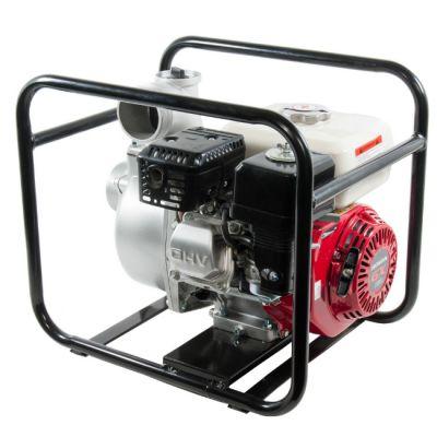 Мотопомпа DDE бензиновая PN80H (вых 80 мм, GX160., 1100 л/мин, 3,6 л, 28 кг)
