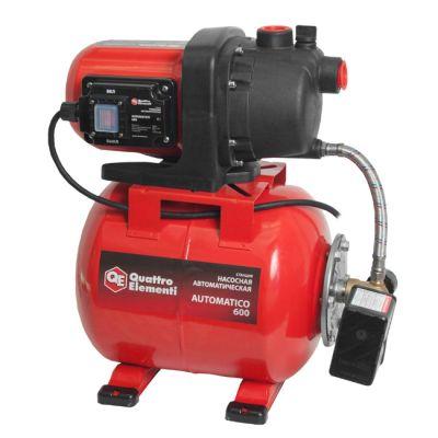Насос Quattro Elementi Automatico 600 (600 Вт, 2800 л/ч, для чистой, 35 м, 12 кг) 770-629