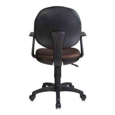 Офисное кресло Бюрократ коричневый CH-356AXSN/#Br