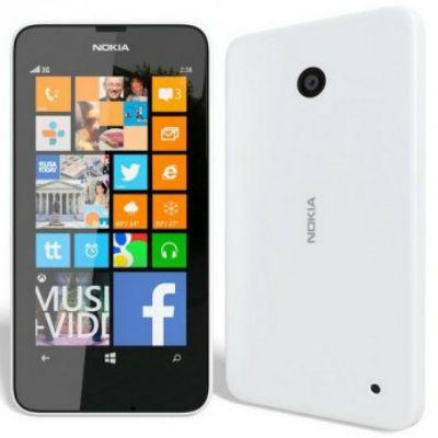 Смартфон Nokia Lumia 630 Dual Sim (белый)
