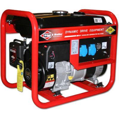 Генератор DDE бензиновый BG3500 однофазн. ном/макс. 2.7/3,0 кВт (B&S, т/бак 15л, ручн/ст, 47кг)