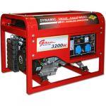 Генератор DDE бензиновый DPG7551E однофазн. ном/макс. 5/6кВт (UP188, т/бак 25л, электростарт, 85кг)