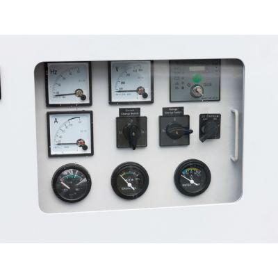 Электростанция РЕЗЕРВ дизельная в кожухе трехфазн. 20 kBA ДЭС20-К (Perkins, т/бак 96л, электростарт, шум/изол, 740кг)