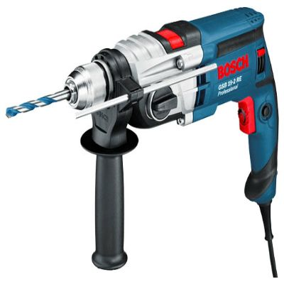 Дрель Bosch ударная GSB 19-2 RE (850 Вт, БЗП.13 мм, 2 скор, 36 нм, 2,6 кг, кейс) 060117B500