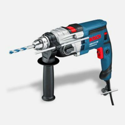 Дрель Bosch ударная GSB 19-2 RE (850 Вт, ЗВП.13 мм, 2 скор, 36 нм, 2,6 кг, кейс) 060117B600