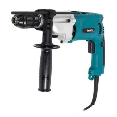 Дрель Makita ударная HP2071F (1010 Вт, БЗП.13 мм, 2 скор, 2,4 кг, подсветка, кейс)
