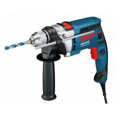 Дрель Bosch ударная GSB 16 RE (750 Вт, БЗП.13 мм, 2,3 нм, 2,2 кг, кейс) 060114E500