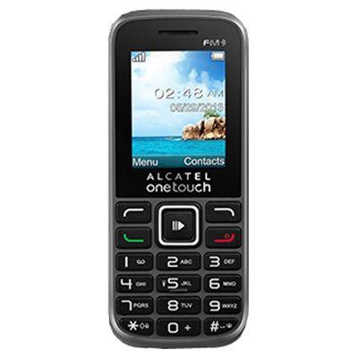 Телефон Alcatel 1042D Black 1042D-2BALRU1