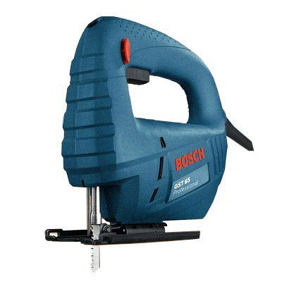 Электролобзик Bosch электрический GST 65 B 0601509120 (400 Вт, 65 мм, 3100 об/мин, 1,7 кг, коробка)