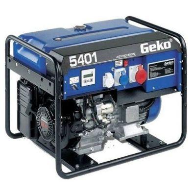 Электростанция Geko возд. охл. бензиновая открытая трехфазн/однофазн. 4/3,7 кВа 5401 ED-AA/HEBA 988476 (Honda, т/бак 20 л, электроcтарт, 98 кг)