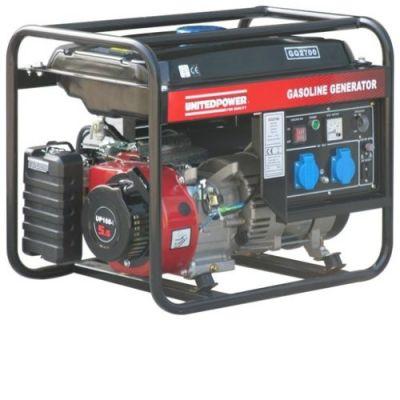 Генератор DDE бензиновый GG2700. однофазн.ном/макс. 2/2,2 кВт (UP168-1, т/бак 15 л, ручн/ст, 45 кг)