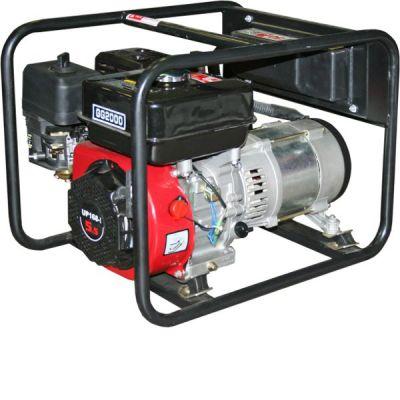 Генератор DDE бензиновый GG2000. однофазн.ном/макс. 1,5/1,8 кВт (UP168-1, т/бак 3,6 л, ручн/ст, 27,5 кг)