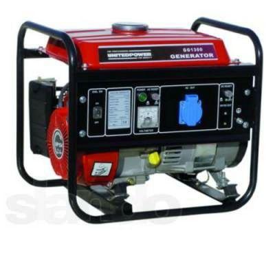 Генератор DDE бензиновый GG1300. однофазн.ном/макс. . 0,9/1,1 кВт (UP154, т/бак 6 л, ручн/ст, 28 кг)