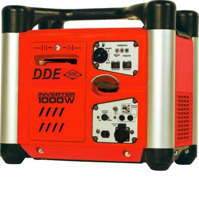 Генератор DDE бензиновый инверторного типа DPG1001Si ( т/бак 2.8 л,вых 12В, шум/изол, 15.5 кг)