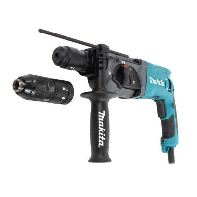 Перфоратор Makita SDS-plus HR2470FT (780 Вт, 2,7 Дж,SDS патрон 2,6 кг, 3 реж, кейс)