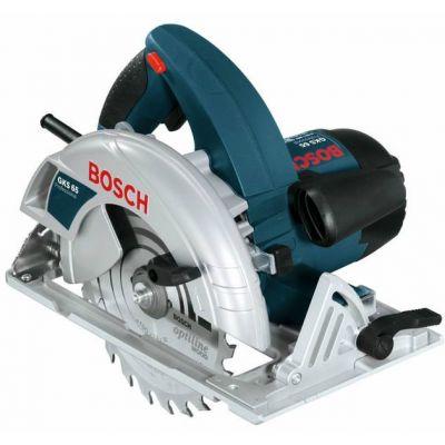 Пила Bosch GKS 65 0601667000 (1600 Вт,190х30 мм, 66 мм, плавн.пуск,4,8 кг, коробка)
