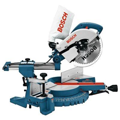 Пила Bosch GCM 10 S 0601B20508 (1800 Вт, 255х30 мм, 87 мм, плавн.пуск, 15 кг, направляющ, коробка)