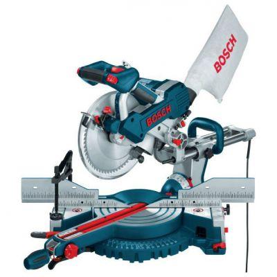 Пила Bosch GCM 10 SD 0601B22508 (1800 Вт, 255х30 мм, 85 мм, плавн.пуск, 15 кг, направляющие, коробка)