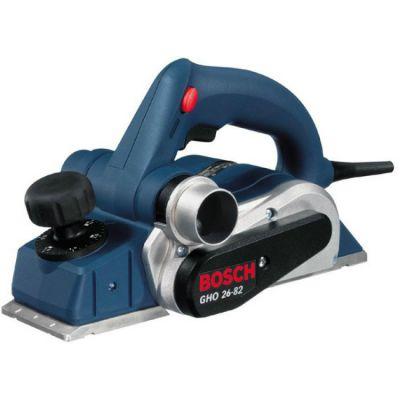 Рубанок Bosch электрический GHO 26-82 0601594303 (710 Вт, 82 мм, 2.6 мм, 16500 об/мин, 2,6 кг, линейка, кейс)