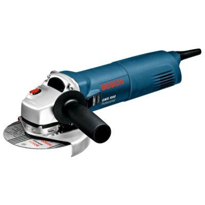 Шлифмашина Bosch GWS 1000 (1000 Вт, 125 мм, 1.7 кг, коробка) 06018218R0