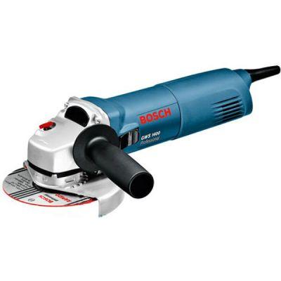 Шлифмашина Bosch GWS 1400 06018248R0 (1400 Вт, 125мм, пл.пуск, 2.2 кг, коробка)