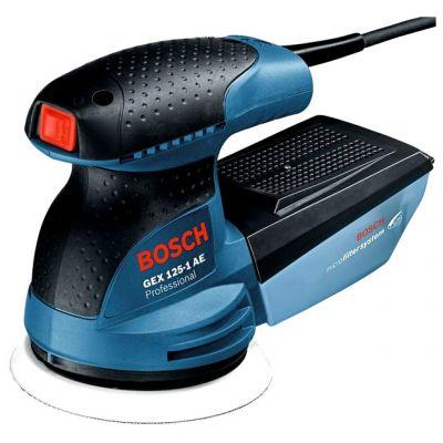 ���������� Bosch GEX 125-1 AE 0601387500 (250 ��, 125 ��, ���.��, 1.3 ��, �������)