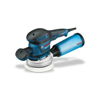 Шлифмашина Bosch GEX 125-150 AVE 060137B102 (400 Ватт, 125-150 мм, рег.ск, 2.4 кг, Anti Vib, коробка)