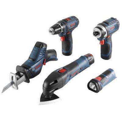 ����� Bosch �������������� GSR 10,8 Li +GDR+GOP+GSA+GLI 10.8Li ����� ������������, L-Boxx 0615990EX4