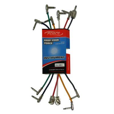 Force комплект гитарных кабелей FLC-35/0,3