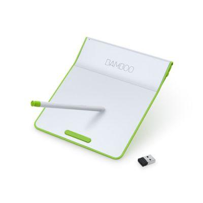 Тачпад Wacom CTH-300E Bamboo pad green