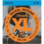 Струны D'Addario EXL110