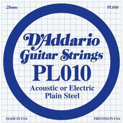 Струны D'Addario PL010 (1-ая)