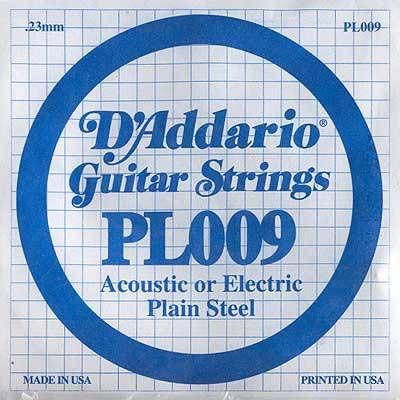 Струны D'Addario PL009 (1-ая)