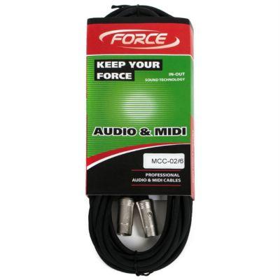 ������ Force MIDI MCC-02/6