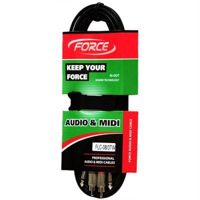 Кабель Force аудио FLC-08/3TW