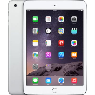 Планшет Apple iPad mini 3 16Gb Wi-Fi (Silver) MGNV2RU/A