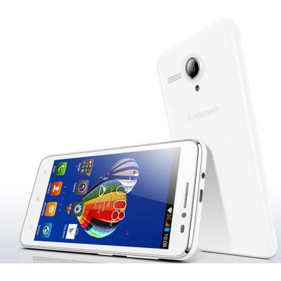 Смартфон Lenovo A606 LTE White P0R4000WRU