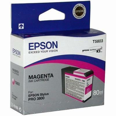Картридж Epson Magenta/Пурпурный (C13T580300)