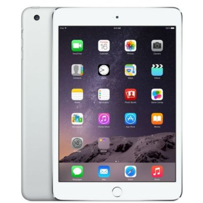 Планшет Apple iPad mini 3 64Gb Wi-Fi (Silver) MGGT2RU/A