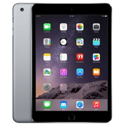 Планшет Apple iPad mini 3 128Gb Wi-Fi (Space Gray) MGP32RU/A