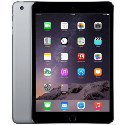 Планшет Apple iPad mini 3 16Gb Wi-Fi + Cellular (Space Gray) MGHV2RU/A