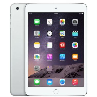 ������� Apple iPad mini 3 128Gb Wi-Fi + Cellular (Silver) MGJ32RU/A