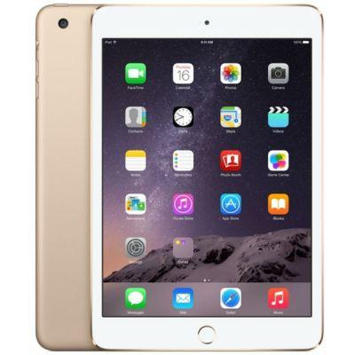 ������� Apple iPad mini 3 128Gb Wi-Fi + Cellular (Gold) MGYU2RU/A