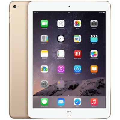 Планшет Apple iPad Air 2 64Gb Wi-Fi + Cellular (Gold) MH172RU/A